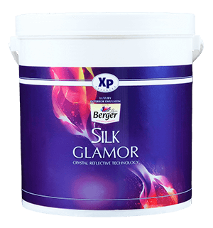 Berger Silk Glamor Metallic - Best Paint for Interior Wall