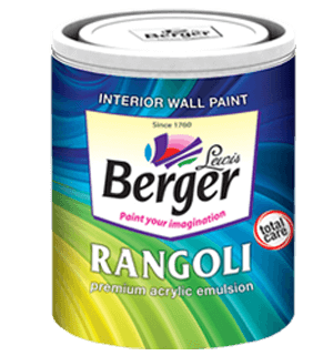 Berger Rangoli Total Care - Best Interior House Paint