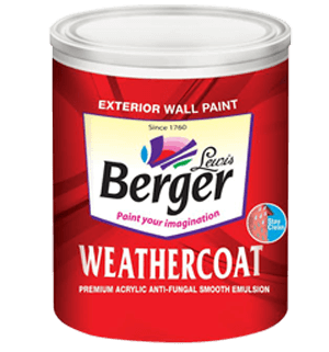 Berger WeatherCoat - Best Eaxterior Wall Paint